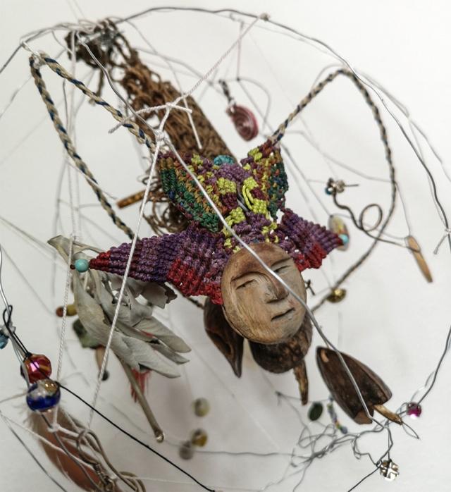 Objekt, Figur aus einem Samen, Verknüpftes